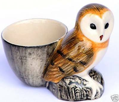 £10.99 • Buy Barn Owl Egg Cup By Quail Pottery  Bird Of Prey China  Gift Boxed CLEARANCE