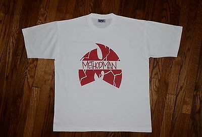 $ CDN485.25 • Buy METHOD MAN WU-TANG Clan Vintage 90s Raekwon ODB GZA Rap Hip Hop T-shirt XL