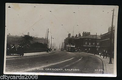 £15 • Buy SALFORD   Lancashire   The Crescent - TRAMS  Outside George Johnson Heating   RP