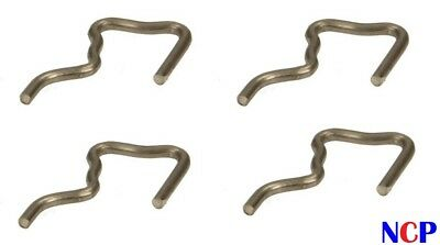 FORD FOCUS GALAXY MONDEO C-MAX S-MAX 2.0 1.8 TDCi FUEL LEAK OFF PIPE CLIPS X 4 • 9.99£