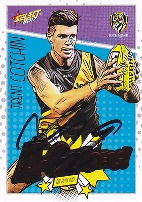AU19.13 • Buy Signed Trent Cotchin Richmond Tigers Autograph On 2017 Select A-Graders Card