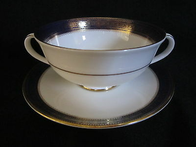 $ CDN49.50 • Buy Royal Doulton ROCHELLE - Cream Soup Bowl And Stand