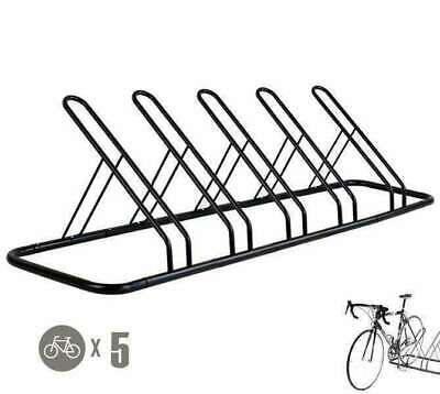 AU62.90 • Buy 1 - 5 Bike Floor Parking Rack Storage Stand Bicycle