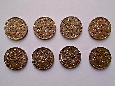 £0.99 • Buy LUCKY Sixpence 1960 - 1967 Choose Date (supplied In Coin Wallet) Collector's