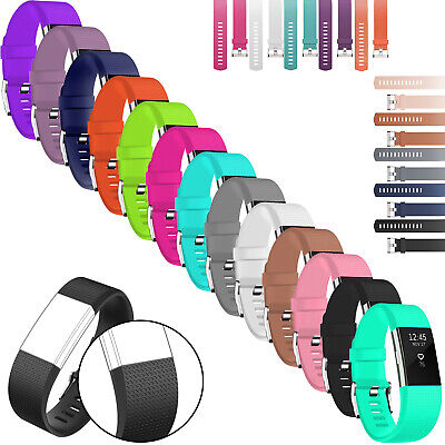 $ CDN4.15 • Buy For Fitbit CHARGE 2 Replacement Silicone Band Rubber Strap Wristband Bracelet