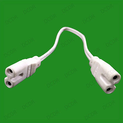 £9.99 • Buy 10x Fig. 8 Female Power Lead Cable IEC C7 Fluorescent LED Tube Holder Connector