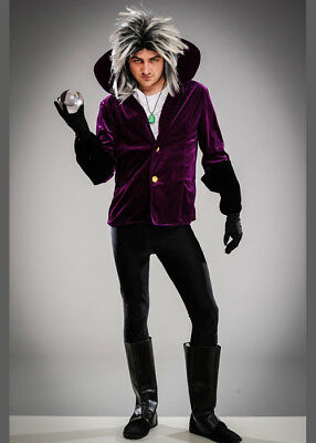 Mens Halloween Labyrinth Style Goblin King Adult 80's Movie Fancy Dress Costume • 19.99£