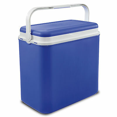36 Litre Extra Large Cooler Box Picnic Lunch Beach Camping + 3 Ice Pack Option • 22.99£