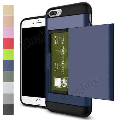 AU5.99 • Buy Shockproof Wallet Credit Card Pocket Case Cover For IPhone 6 7 8 X XS 11 Pro Max
