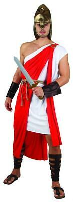 £19.99 • Buy Mens Roman Costume Spartan Warrior Soldier Fancy Dress Outfit Up To 44 Inch NEW