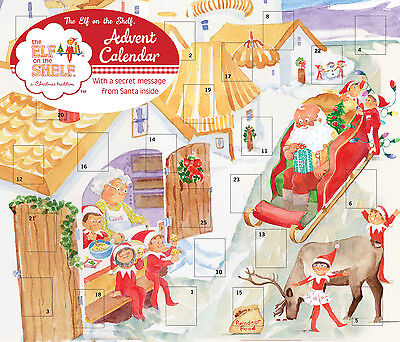 £7.09 • Buy The Elf On The Shelf Advent Calendar By Andrews McMeel