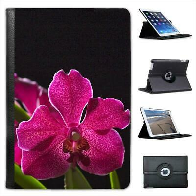 £9.99 • Buy Hawaii Magenta Spotted Orchid & Green Leaves Leather Case For IPad Mini & Retina