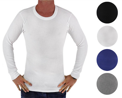 $14.99 • Buy New BYC Men's Premium Long Sleeve Thermal Underwear Heavy Weight Solid Shirt