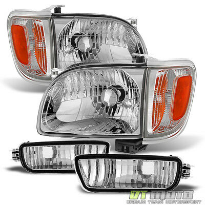 $105.99 • Buy For 2001-2004 Toyota Tacoma Headlights+Corner Parking Signal Lights+Bumper Lamps