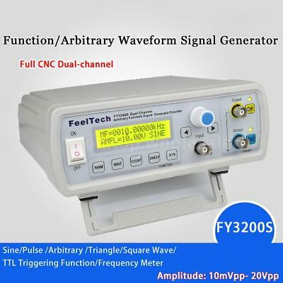 FY3200S 24MHz Digital DDS 2-Channel Arbitrary Function Signal Generator Meter • 52.54$