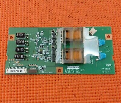 £4.19 • Buy Inverter Board For Md30112 32lx2r Rz-32lz50 Tv 6632l-0190a Kls-ee32p-s
