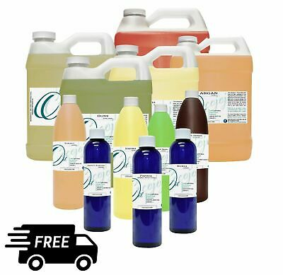 $19.99 • Buy 100 Pure Organic Carrier Oil 8 Oz To 1 Gallon Free Shipping 76 Different Oil