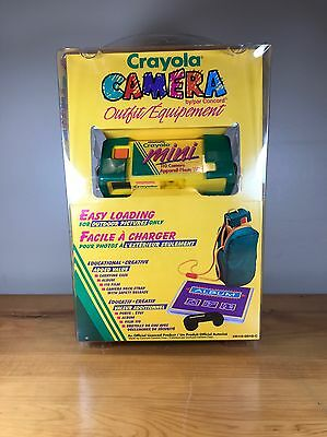 $ CDN69.99 • Buy Vintage Crayons Camera Outfit 110 New Unopened Carrying Case Album Strap Outdoor