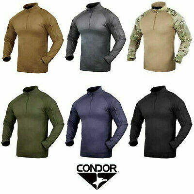 e71e0be041fca Condor 101065 Tactical Military YKK Zipper Performance Combat Shirt • 43.95$