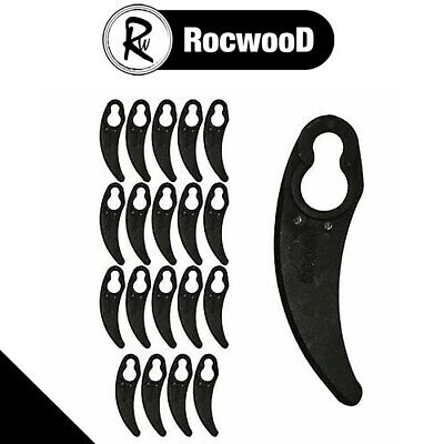 £4.58 • Buy Pack Of 20 Plastic Cutting Blades Fits Challenge 1100W Hover Lawnmower