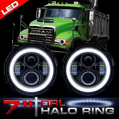 $88.95 • Buy Halo LED Headlamps Headlights Low High And DRL For Mack Granite CV713 Dump Truck