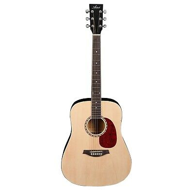 AU109 • Buy Artist AB1 41 Inch Natural Steel String Acoustic Guitar - New