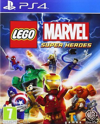 AU27 • Buy LEGO Marvel Super Heroes Game For Playstation 4 PS4 Kids Game NEW