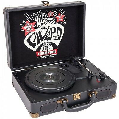 AU132.95 • Buy Portable 3-speed Record Player Cavern Club Design - Rpcv1 - With Wooden Case
