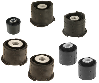 $112.95 • Buy For BMW E46 Rear Subframe Mounts 7pcs Differential Axle Carrier Bushing Support