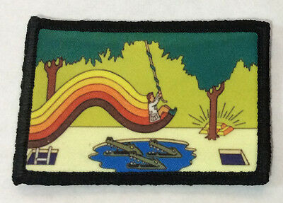 $7.99 • Buy Pitfall Video Game Morale Patch Military Tactical Army Funny Flag USA Badge Hook