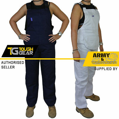 £15.90 • Buy Ladies Womens Bib And Brace Painters Overalls Coveralls Dungarees Work Trousers