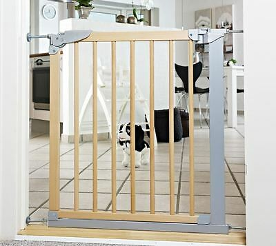 BabyDan Designer Extra Narrow Wooden Pressure Fit Baby Stair Gate 69.1-75.8cm • 46.90£