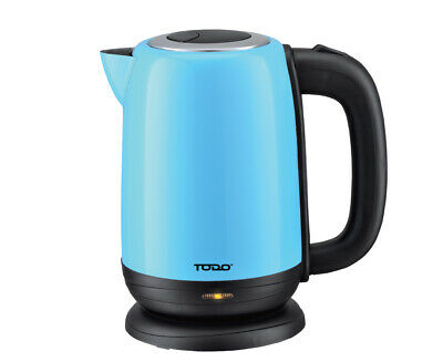 AU32.50 • Buy TODO 1.7L Stainless Steel Cordless Kettle 2200W Electric Water Jug Blue