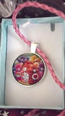 New Care Bears Necklace  Age  2,3,4,5,6,years  Gift Box Birthday  Party Princess • 4.99£