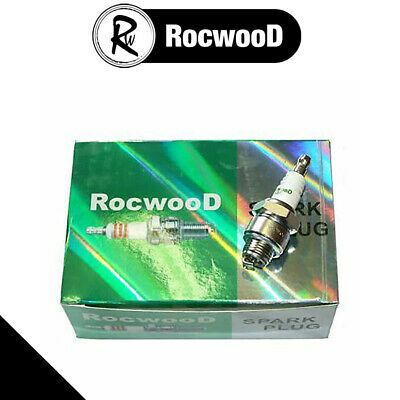 £9.13 • Buy 10 Rocwood Spark Plugs Fits Many Hayter Harrier Lawnmowers Replaces RJ19LM B2LM