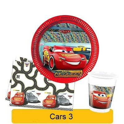 Disney CARS 3 NEW Birthday PARTY Range Tableware Balloons Banners & Decorations • 3.29£