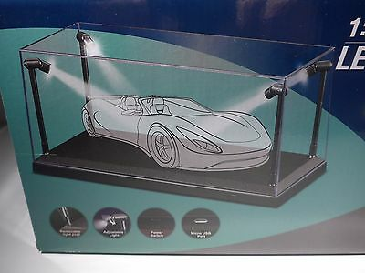 £50.41 • Buy  LED Display Case For 1:18-1:24-1:25 Scale Diecast  Car Models