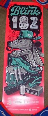 $59.99 • Buy BLINK 182 Concert Gig Poster Print TALLAHASEE 5-3-17 2017 Travis Price
