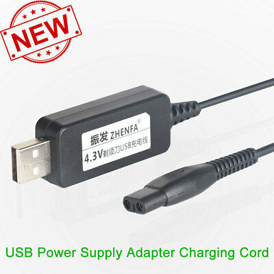 AU3.98 • Buy USB Charger Cord Philips Norelco Series Shaver 3000 Multigroom QG3330 16 Trimmer