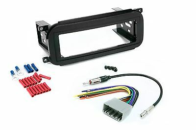 $16.34 • Buy Radio Mounting Stereo Install Trim Single Din Dash Kit Wire Harness Antenna