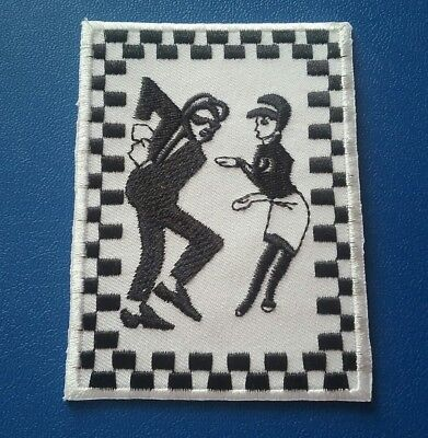 £3.69 • Buy Two Tone Madstock Ska Music Sew / Iron On Patch:- 2 Tone Records Ska Rude Boy