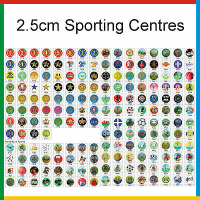 £0.99 • Buy TROPHY CENTRES - 2.5cm Fits Standard Trophies & Medals: Sports Acrylic Inserts