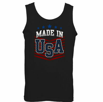 £9.99 • Buy Made In The USA Mens American Flag Vest Independence Day July 4th America US