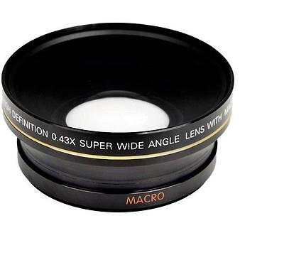 AU89.58 • Buy Bower 0.43x Super Wide Angle Lens W/ Macro For Nikon Coolpix P1000