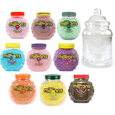 £7.99 • Buy MILLIONS SWEETS VICTORIAN JAR FULL 380 Ml SWEETS  DISCOUNT TREATS PARTY CANDY