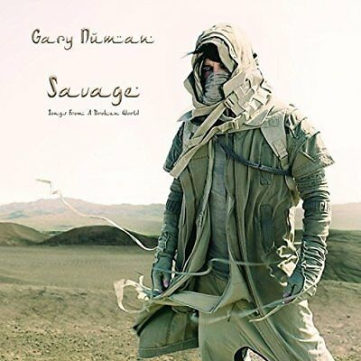 Gary Numan Savage (songs From A Broken World) Cd New Release 15/09/2017 • 9.99£