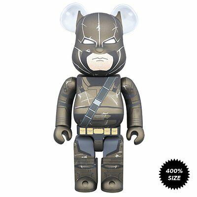 $199.99 • Buy Batman V Superman: Armored Batman 400% Bearbrick Action Figure Medicom Used JC