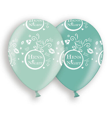 AU10.95 • Buy Hens Night Balloons X10 Bachelorette Party Decoration 2 Shades Of Green