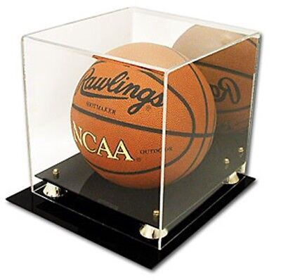 Deluxe CBG UV Protected Basketball Display Case W/ Mirror - Brand New • 49.99$