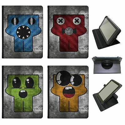 Grunge Monsters Universal Folio Leather Case For Amazon KindleTablets • 9.99£